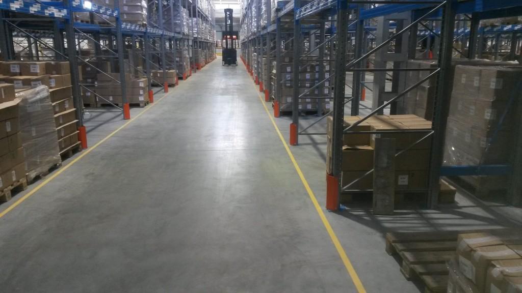 разметка склада в Барнауле